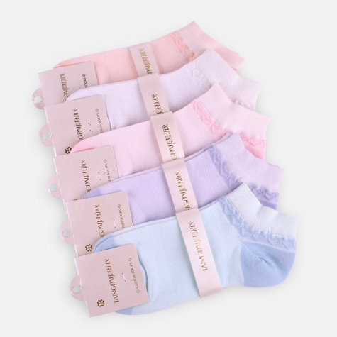 elastic sweet chic thin mesh women socks