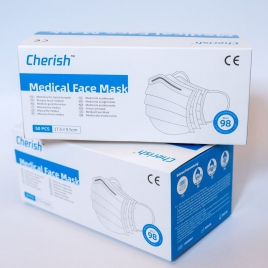 cherist CE ceritficated  mask EN14683 Type IIR medical mask Europe standard