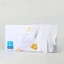 Wally  plastic powder free synthetic white color disposable  gloves  ready  OTG in stock China