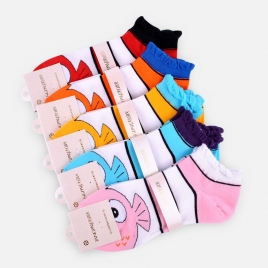 fashion trend cartoon fish women socks