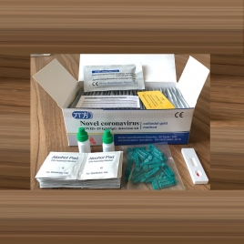 Novel coronavirus IgM/gG detection kit (colloidal gold method) Three line card  30 test/box