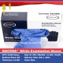 NACOSA Medical grade examination glove nitrile gloves FDA510k certificated OGT ready stock in New York