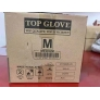 top gloves  Medical grade latex examination glove CE certificated OGT ready stock in Malaysia