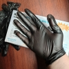 wally non-medical black vinly/nitrile blend glove factory Manufacturer contract low price