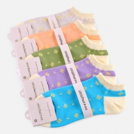 japan sweet cute puff opening socks bobby sox