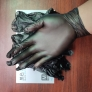 wally non-medical black vinly/nitrile  Auto repair blend glove  synthetic gloves