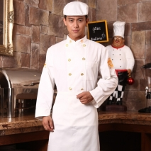dragon embroidery restaurant chef coat