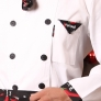 high quality long sleeve chef work wear uniform