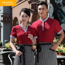 south east Asian style waitress waiter shirts