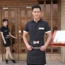 popular professional women men uniform for hotel waiter