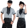 fashion coffee bar summer short sleeve uniform