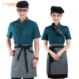 casual design waiter waitress uniform coat discount