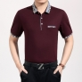 pure cotton short sleeve male tshirt