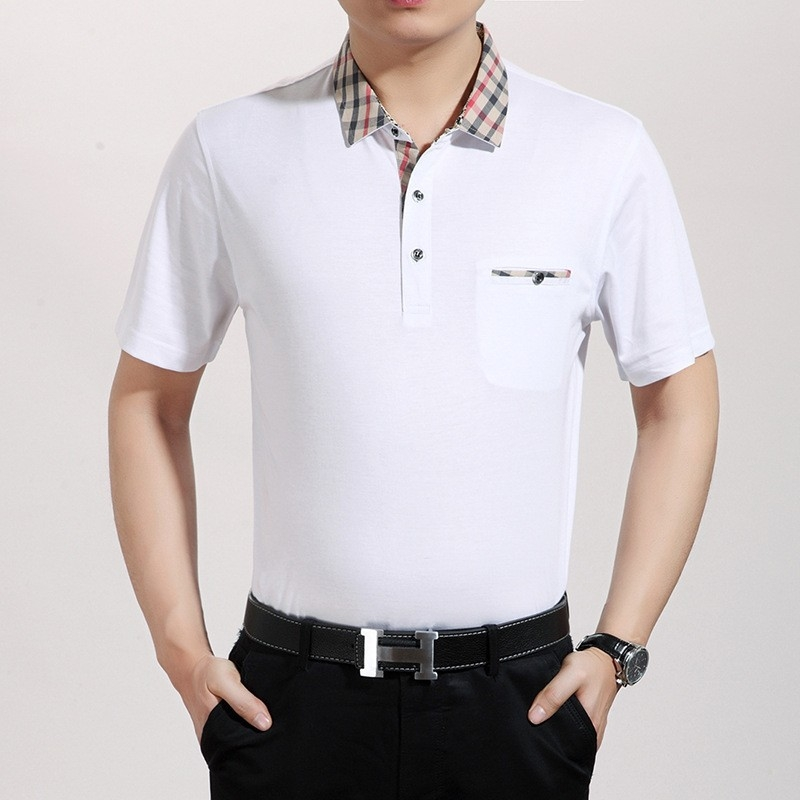 Best quality fashion casual men 39 s clothing t shirt tianex for Best quality polo shirts for men