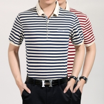 comfortable good quality mercerized cotton fabrics casual T-shirt