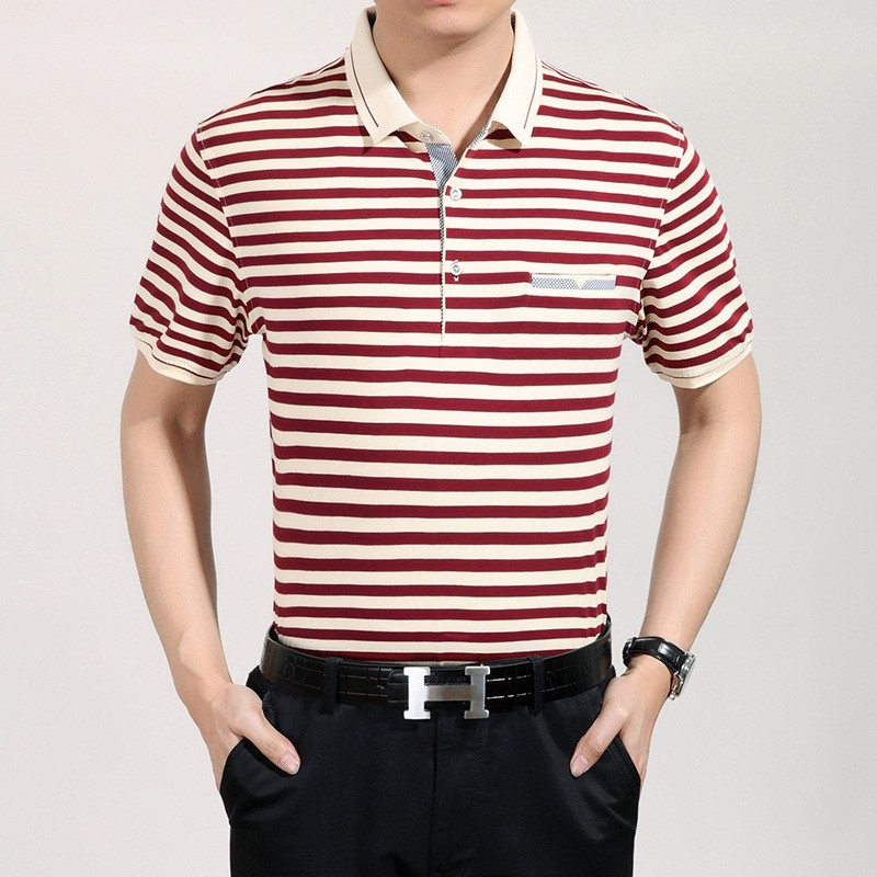 Comfortable good quality mercerized cotton fabrics casual for Good quality cotton t shirts