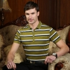 France design combed cotton summer men polos shirts