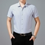 Korea men's short sleeve shirt knit cotton fabric