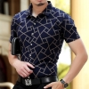 summers fashion luxury casual boss shirt