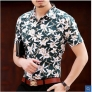 south east Asian style summers young men's short sleeve shirt