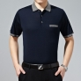 summer mid-age men's fashion t-shirt high quality