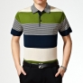 good quality summer olive pocket men polo t-shirt