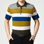summers mulberry silk knitting elegant man T-shirts