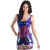 guardians galaxy printing microfiber women tanks tops dress