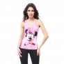 pink cute mickey printing girl's tanks camis