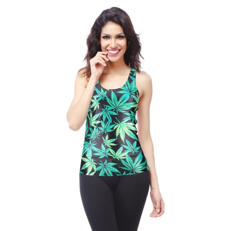 castor leaf casual women tank tops camisole