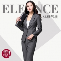 shawl collar spring high quality sales women uniform pant suit
