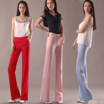 exclusive new fashion casual young lady flare bottom pant
