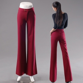 young fashion lady large flare bell bottom pant,women trousers
