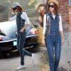 2014 autumn new zipper joined back laced women's rompers jumpsuits