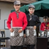 slim fit teahouse waiter uniform