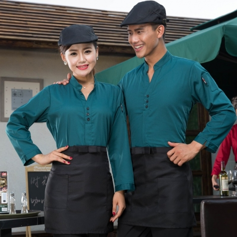 2015 Korea design  autumn bar waiter uniform