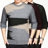 casual painting velvet mink wholesale business men's sweater