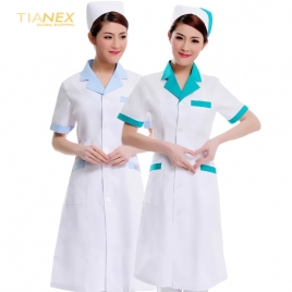 short sleeve summer nurse suit drugstore uniform