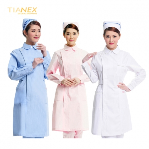 thicken autumn nurse uniform medical coverall JN16