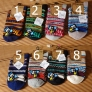 knitted jacquard winter outdoor street casual thicken men's  bulky socks
