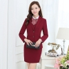 formal long sleeve office uniform women suits (4 pieces)