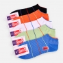 healthy double cylinder knit pure cotton man ankle socks slipper
