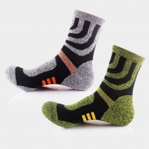 thicken hem outdoor race cotton socks