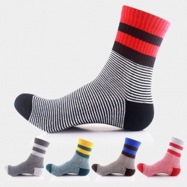 autumn winter thicken  outdoor  sports design men cotton socks