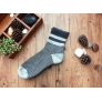 stripes high quality men cotton socks