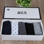 dot formal design cotton bsiness men socks