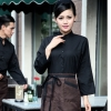 coffee womenautumn Thailand vintage half sleeve waiter waitress shirts  Waiter 101
