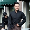 coffee menautumn Thailand vintage half sleeve waiter waitress shirts  Waiter 101