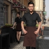 black menfashion France style KTV KFC restaurant waiter uniform