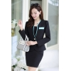 Blackadministrative staff secretary OL women career work uniform